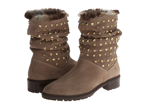 Stuart Weitzman - Arctica (Neutral Sport Suede) Women's Pull-on Boots