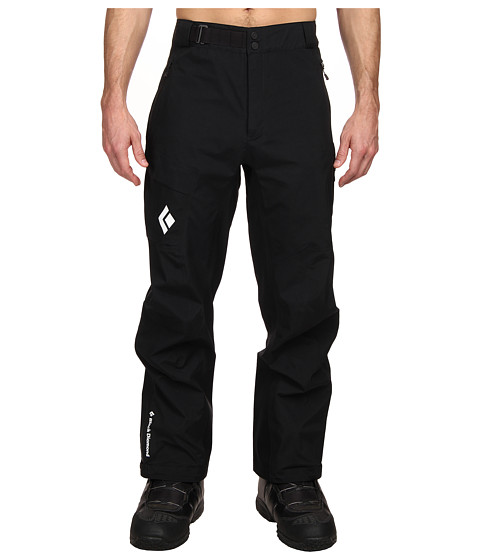 Black Diamond - Front Point Pants (Black) Men's Casual Pants