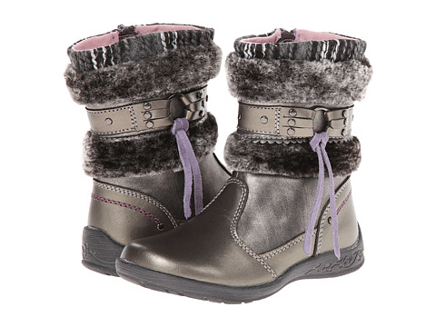 Beeko - Ruby (Toddler/Little Kid) (Grey) Girls Shoes