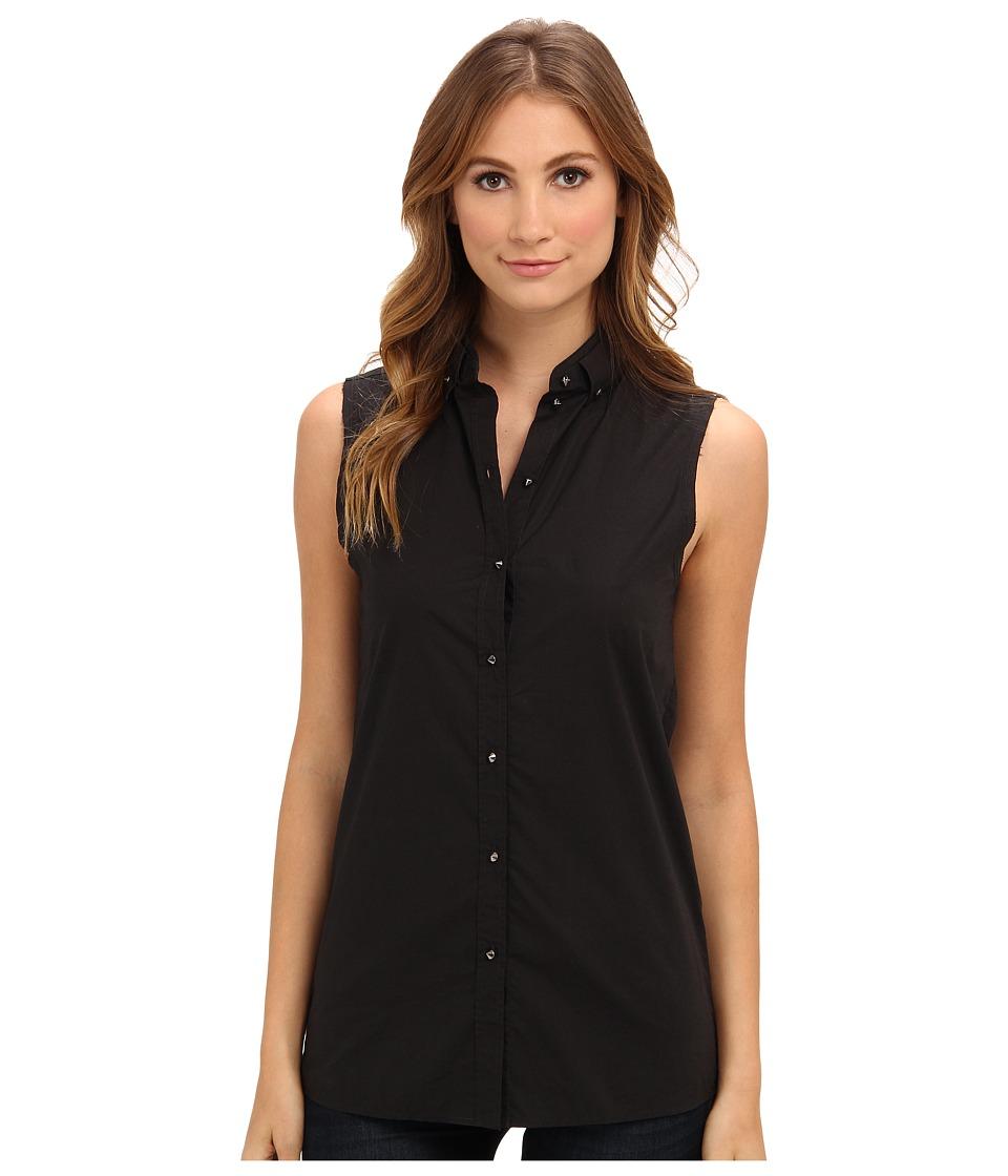 Diesel - C-Oryel Sleeveless Shirt (Black) Women's Sleeveless