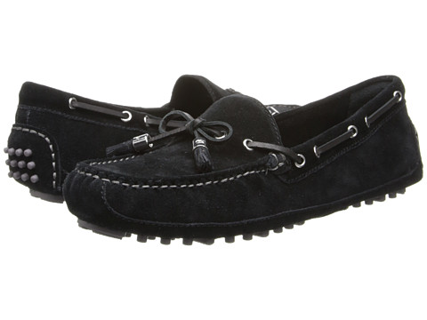 Cole Haan - Grant (Black Suede) Women's Slip on Shoes