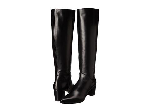 Stuart Weitzman - Bootleg (Black Calf) Women's Zip Boots