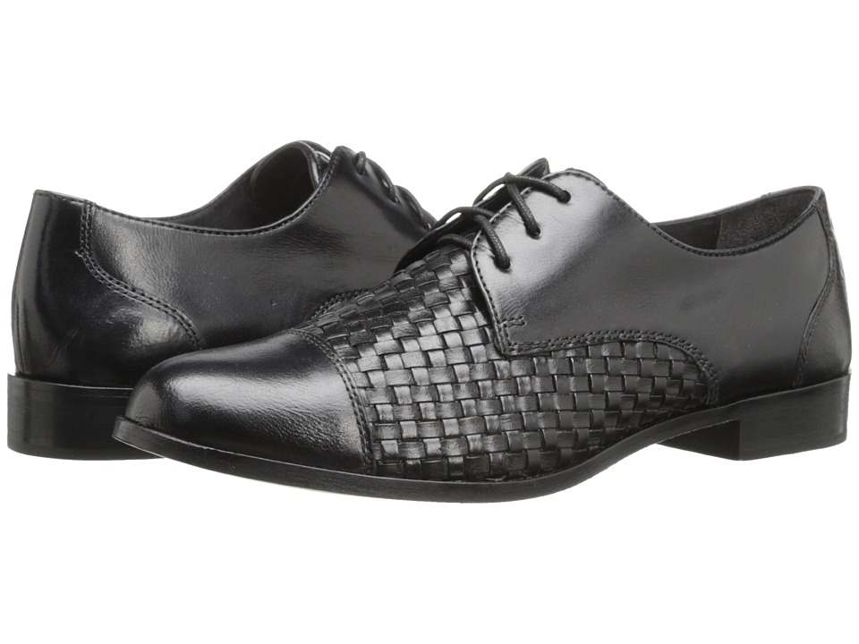 Cole Haan - Jagger Weave Oxford (Black) Women's Lace up casual Shoes