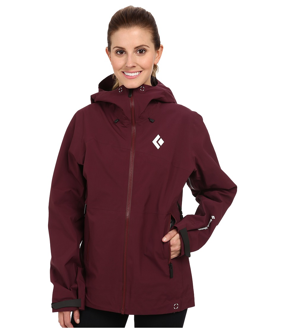 Black Diamond - Sharp End Shell (Merlot) Women's Jacket