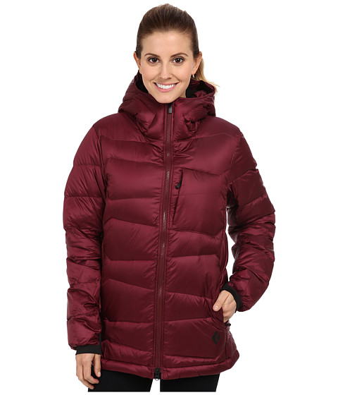 Black Diamond - Cold Forge Parka (Merlot) Women