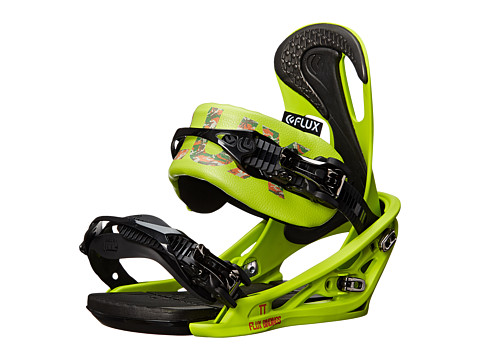 Flux - TT'14 (Lime Green) Snowboards Sports Equipment