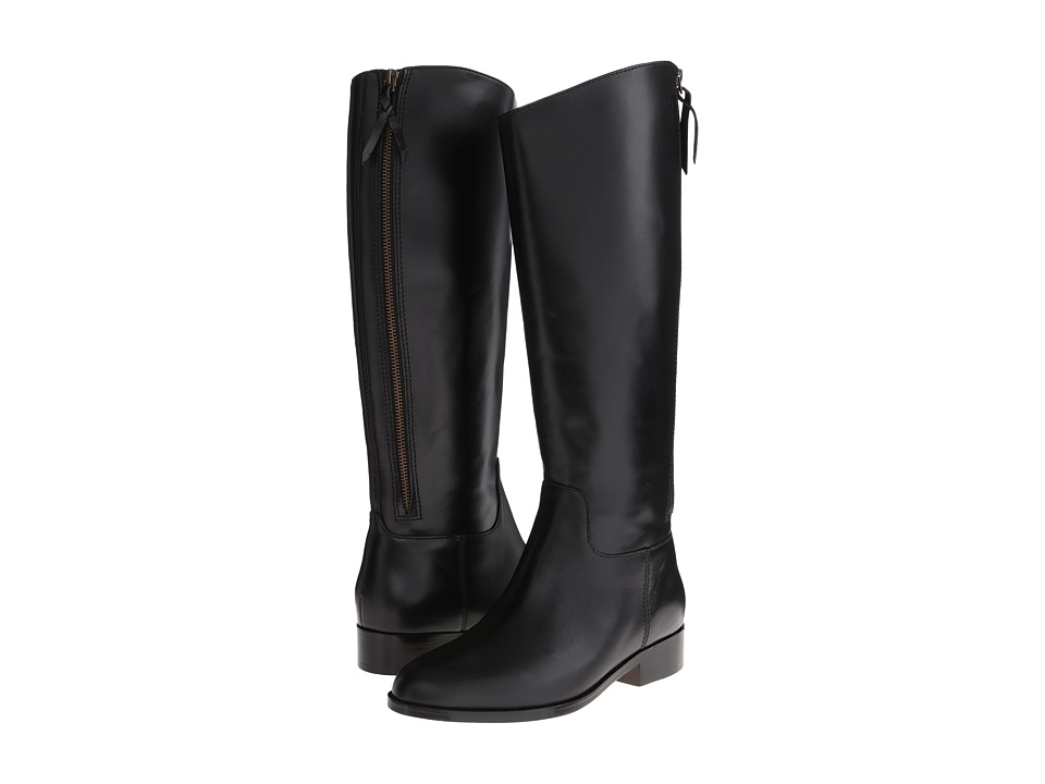 Cole Haan - Arlington Riding Boot (Black) Women's Zip Boots