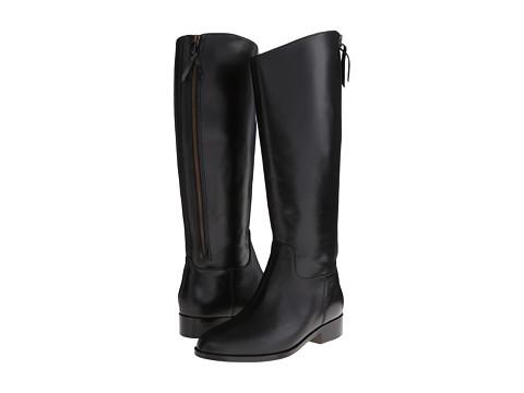 Cole Haan - Arlington Riding Boot (Black) Women's Zip Boots