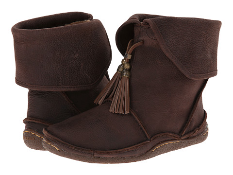 Durango - Santa Fe Tassle Ankle Moccasin (Coffee) Women's Moccasin Shoes