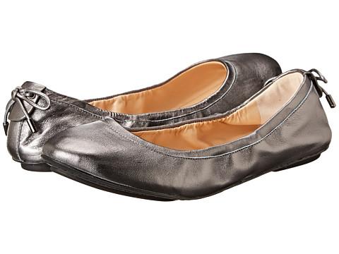 Cole Haan - Avery Bow Back Ballet (Dark Silver) Women