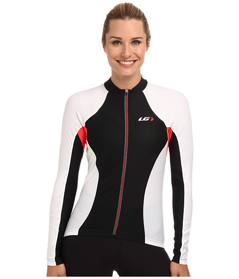 Louis Garneau - Ventila SL Long Sleeve Jersey (Black/White) Women's Clothing