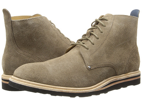 Cole Haan - Christy Plain Toe BT (Wren Suede) Men's Lace-up Boots