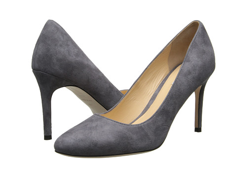 Cole Haan - Bethany Pump 85 (Storm Cloud Suede) High Heels