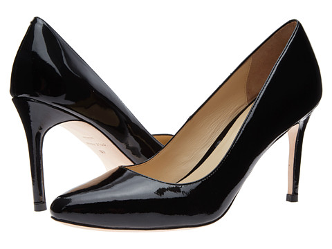 Cole Haan - Bethany Pump 85 (Black Patent) High Heels