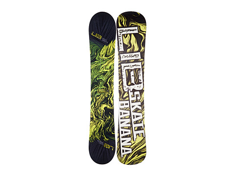 Lib Tech - Sk8 Banana'14 162 (Yellow) Snowboards Sports Equipment