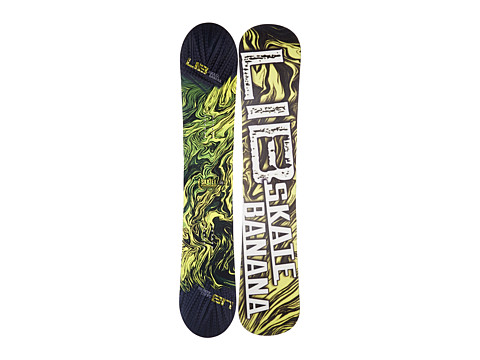 Lib Tech - Sk8 Banana'14 149 (Yellow) Snowboards Sports Equipment
