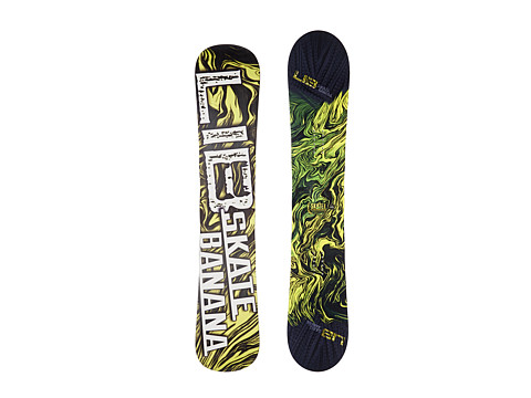 Lib Tech - Sk8 Banana'14 156 (Yellow) Snowboards Sports Equipment