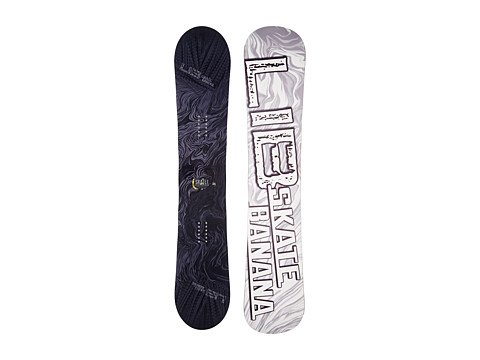 Lib Tech - Sk8 Banana'14 159 Wide (Stealth) Snowboards Sports Equipment