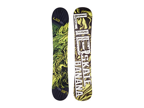 Lib Tech - Sk8 Banana'14 152 (Yellow) Snowboards Sports Equipment