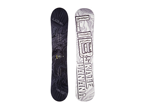 Lib Tech - Sk8 Banana'14 153 Wide (Stealth) Snowboards Sports Equipment