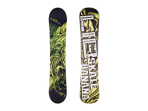 Lib Tech - Sk8 Banana'14 153 Wide (Yellow) Snowboards Sports Equipment
