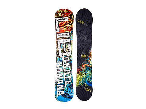 Lib Tech - Sk8 Banana'14 159 Wide (Random) Snowboards Sports Equipment