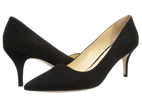 Cole Haan - Bradshaw Pump 65 (Black Suede) High Heels