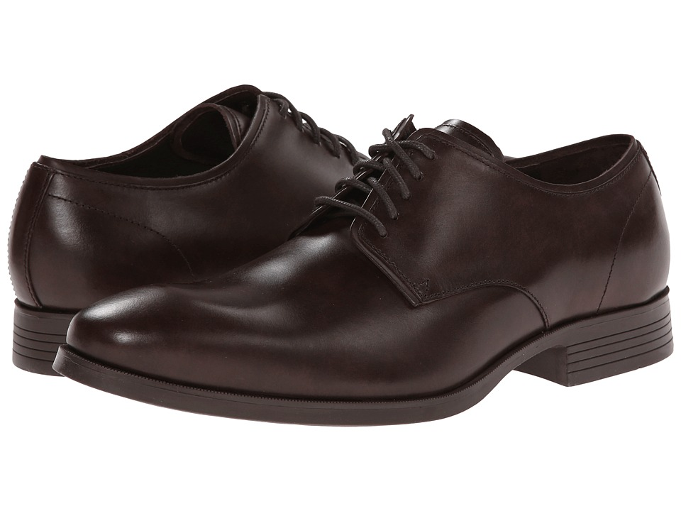Cole Haan - Copley Plain Derby (Java) Men's Lace up casual Shoes