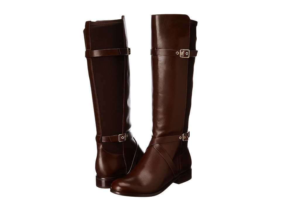 Cole Haan - Dorian Stretch Boot (Chestnut) Women's Zip Boots