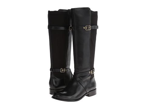 Cole Haan - Dorian Stretch Boot (Black) Women's Zip Boots