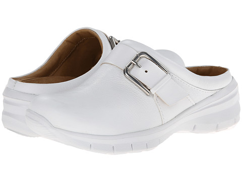 Nurse Mates - Linzi (White) Women's Clog Shoes