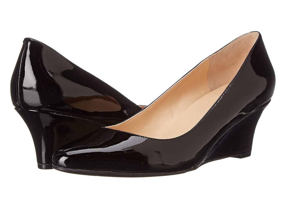 Cole Haan - Catalina Wedge (Black Patent) Women