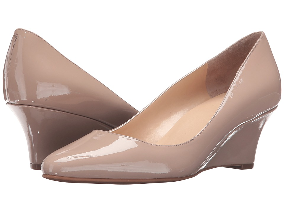 Cole Haan - Catalina Wedge (Maple Sugar Patent) Women's Wedge Shoes