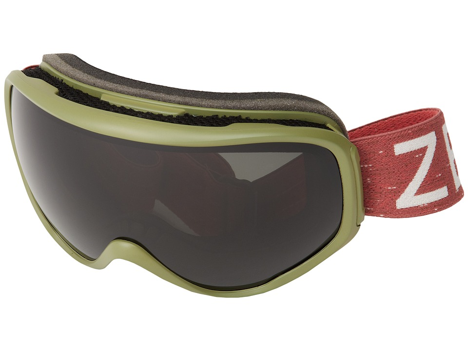 Zeal Optics - Forecast (Green w/ Dark Grey Polarized) Goggles