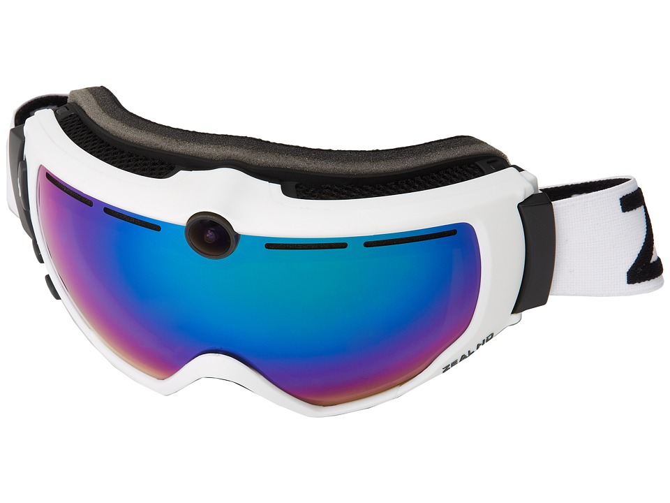 Zeal Optics - HD 2 (White w/ Jade Mirror) Goggles