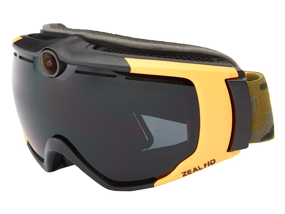 Zeal Optics - HD 2 (Geronimo Safety w/ Dark Grey) Goggles