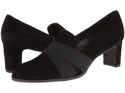 Stuart Weitzman - Getaround (Black Suede) Women's Shoes