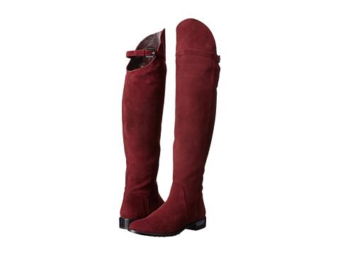 Stuart Weitzman - Needaride (Currant Suede) Women's Zip Boots