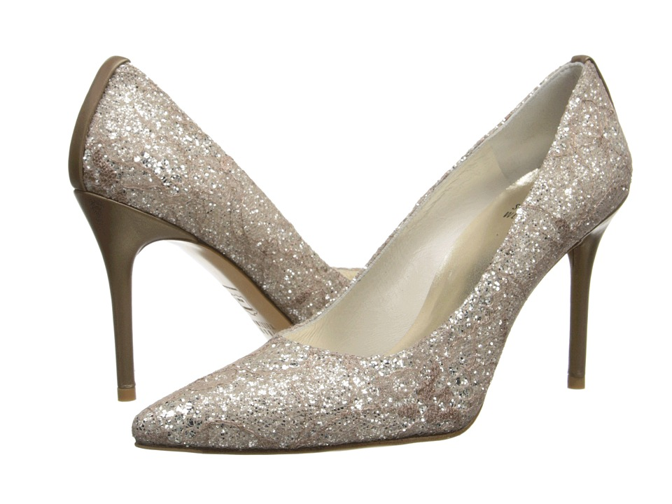 Stuart Weitzman Bridal & Evening Collection - Flirt (Quartz Sugar Lace) High Heels