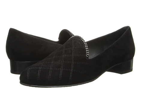 Stuart Weitzman - Hallmark (Black Suede) Women's Shoes