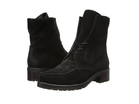 Stuart Weitzman - Stepout (Nero Velour) Women's Boots