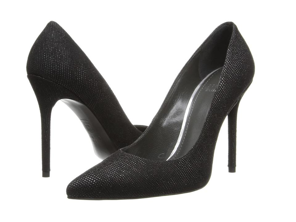 Stuart Weitzman - Nouveau (Black Goose Bump Nappa) High Heels