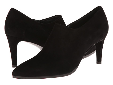 Stuart Weitzman - Standin (Black Suede) Women's Shoes