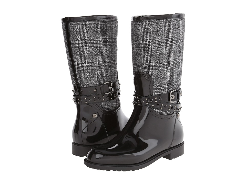 Stuart Weitzman Slush (Charcoal Plaid) Women