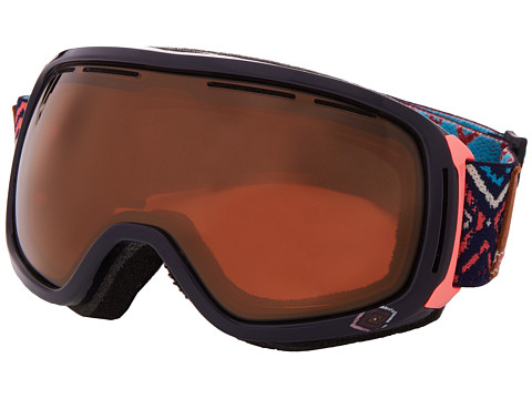 Roxy - Rockferry Goggle (Coppen Blue/Metallic Bronze) Snow Goggles