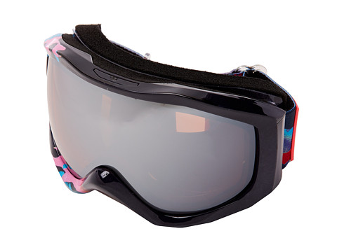 Roxy - Sunset Art Series Goggle (Navy/Amber Rose Silver Mirror) Snow Goggles