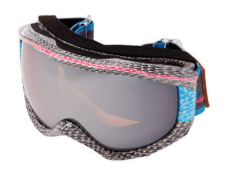 Roxy - Sunset Art Series Goggle (Wool/Amber Rose Silver Mirror) Snow Goggles