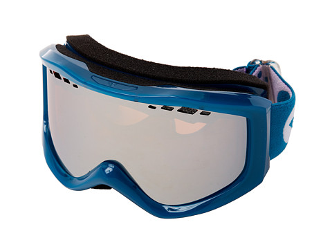 Roxy - Sunset Goggle (Blue/Amber Rose Silver Mirror) Snow Goggles
