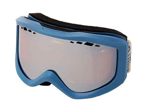 Roxy - Sunset Goggle (Coppen Blue/Amber Rose Silver Mirror) Snow Goggles