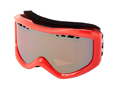 Roxy - Sunset Goggle (Hot Pink/Amber Rose Silver Mirror) Snow Goggles